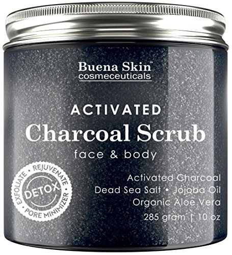 Activated Charcoal Face Scrub - 5