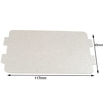 Spares2go Waveguide Cover For Argos Microwave Oven 117mm X