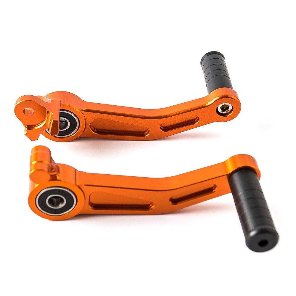 Motorcycle CNC Aluminium Orange Brake Clutch Gear Pedal Lever for KTM Duke 390 13-16 Duke 125 11-15 Duck 200 12-16 RC125 RC200 RC390 14-16