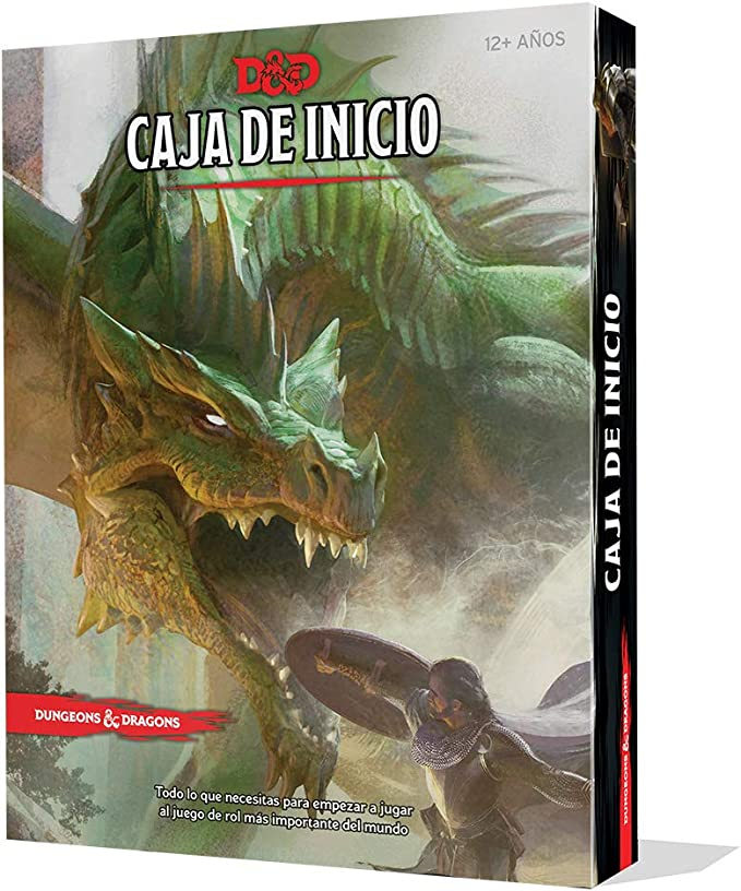 Dungeons & Dragons Caja de Inicio-español, Color (Edge Entertainment EEWCDD00): Amazon.es: Juguetes y juegos