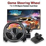 MOSTOP Game Steering Wheel Dual-Motor Sport