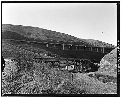 Photo: Carroll Overhead Bridge,Altamont Pass Road,Livermore,Alameda County,CA,HABS,6