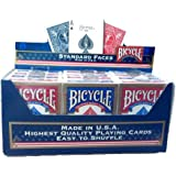 Bicycle (12 Decks Pack Blue and Red) by US Playing Cards Company