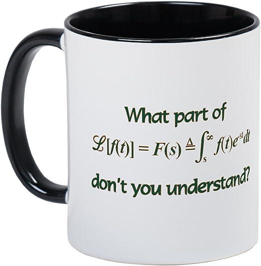 Amazon Com Cafepress Laplace Transform Mug Unique Coffee Mug