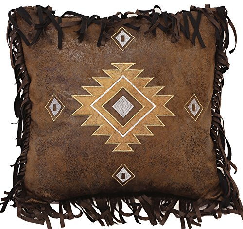Carstens Old West Diamonds pillow (Large Pillows Leather)