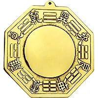 Better us Chinese Feng Shui Brass Convex Bagua Mirror