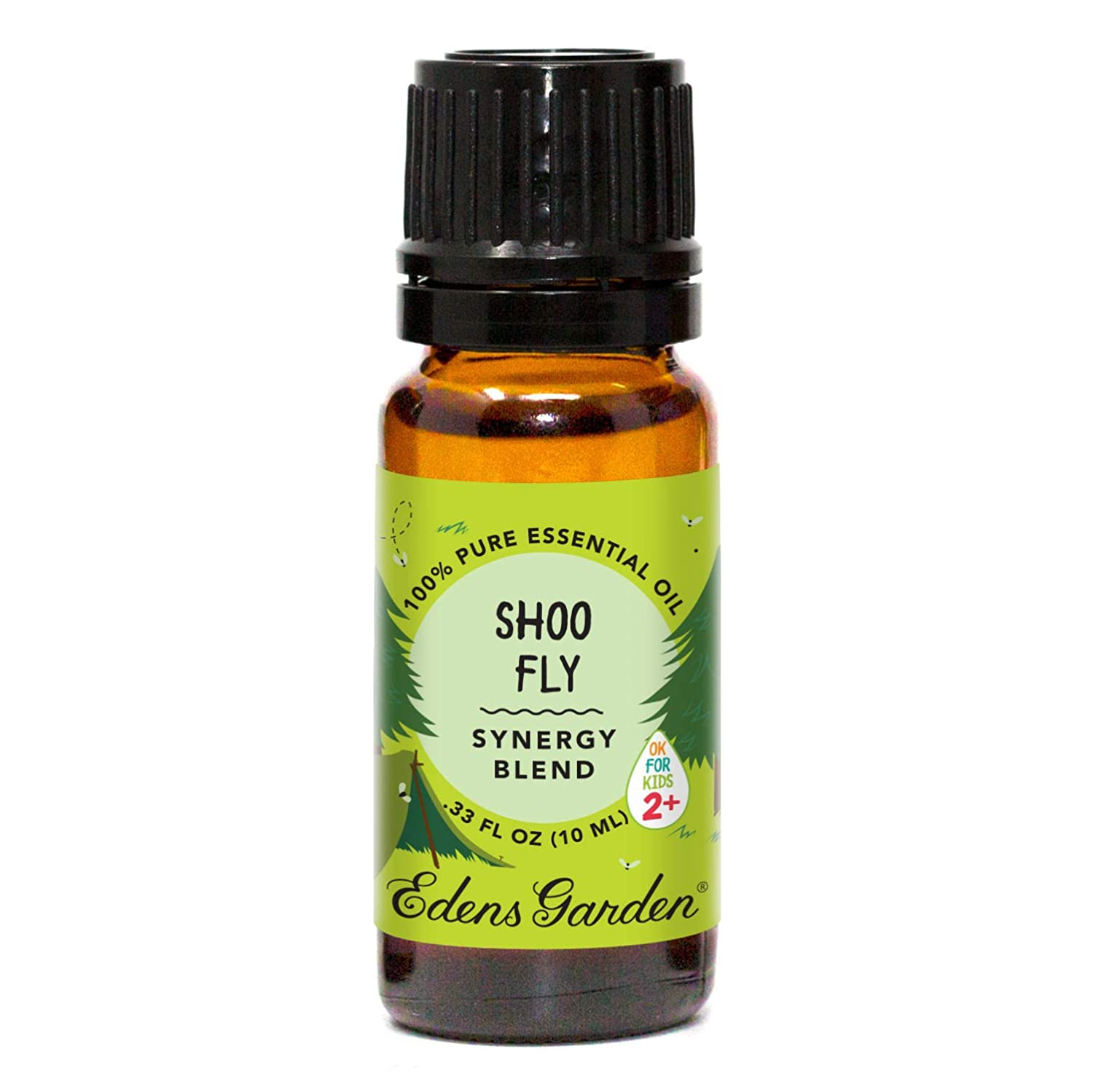 "Edens Garden Shoo Fly""OK For Kids"" Essential Oil Synergy Blend, 100% Pure Therapeutic Grade (Child Safe 2+, Detox & Stress) 10 ml"