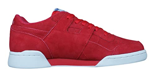 Amazon.com | Reebok Classic Workout Plus Vintage Mens Sneakers/Shoes | Fitness & Cross-Training