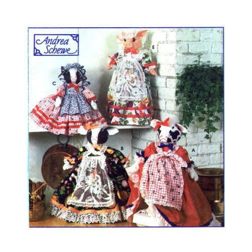 - Simplicity Crafts Pattern 9003 Cow and Pig Appliance Covers and Oven Mitts