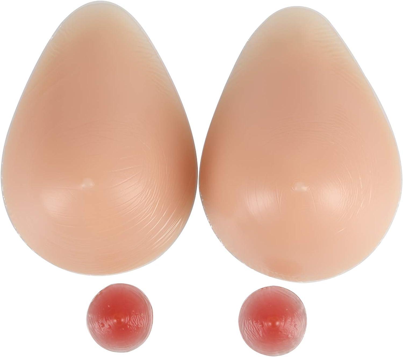 IVITA Silicone Forme del Seno Per Inserti per Reggiseni Con Protesi Per Mastectomia Crossdressers Un Paio