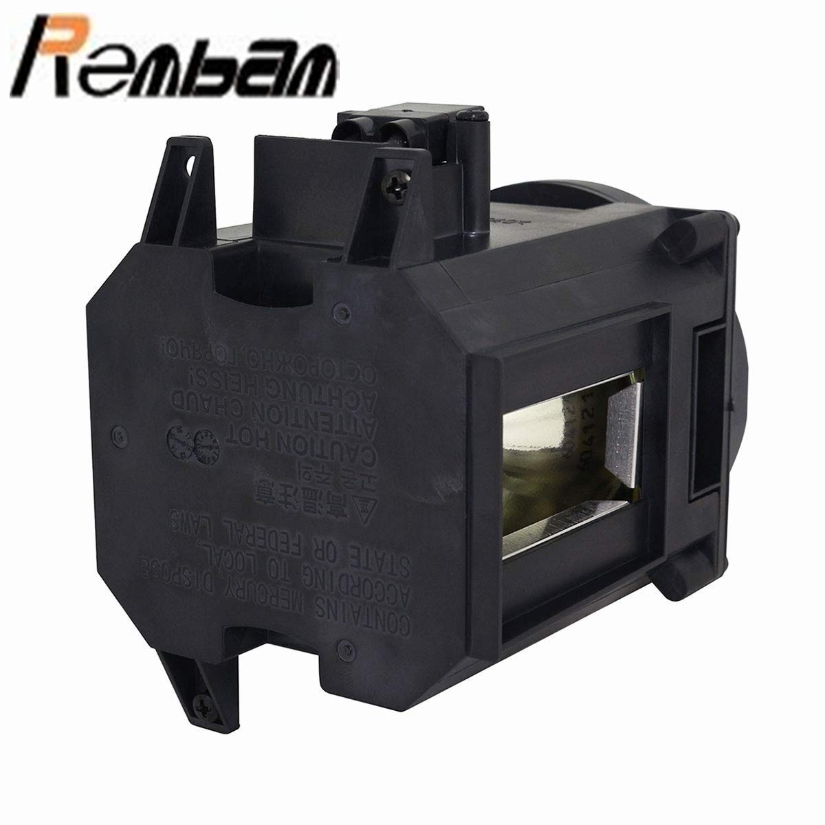 Rembam NP26LP Hight Quality Replacement Projector Lamp with Housing for NEC PA522U PA571W PA571W-13ZL PA621X PA621X-13ZL PA622U PA672W PA672W-13ZL PA722X PA722X-13ZL