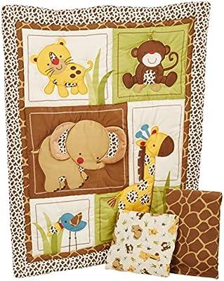 Jungle Dreams 3 Piece Comforter Set by NoJo