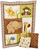 NoJo Little Bedding Jungle Dreams 3 Piece Crib Bedding Set Reviews