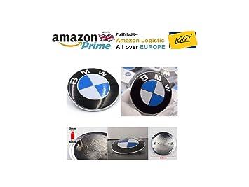 IGGY Escudo de Cristal hormigón BMW Brillante para capó 2 Elementos sporgenti, 82 mm, para Serie 1 3 5 7 M3 M5 X5 E30 E36 E46: Amazon.es: Coche y moto