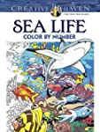 Creative Haven Sea Life Color by Numb...