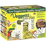 (USA Warehouse) Veggetti Pro Table-Top Spiralizer, Quickly Spiral Slice Vegetables Into Healthy -/PT# HF983-1754361411