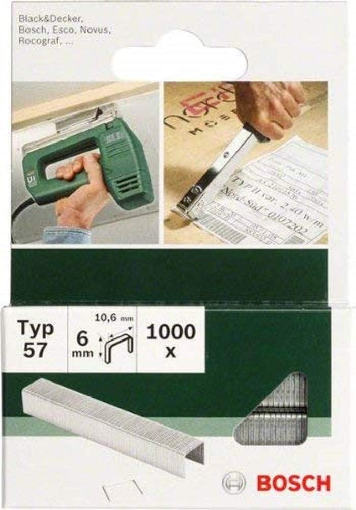 Bosch 2609255847 - Grapas (tamaño: 10mm, pack de 1000): Amazon.es: Bricolaje y herramientas