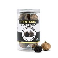 USDA Organic Black Garlic 227g Black Pearl Garlic Jar 8oz 100% Whole Black Garlic