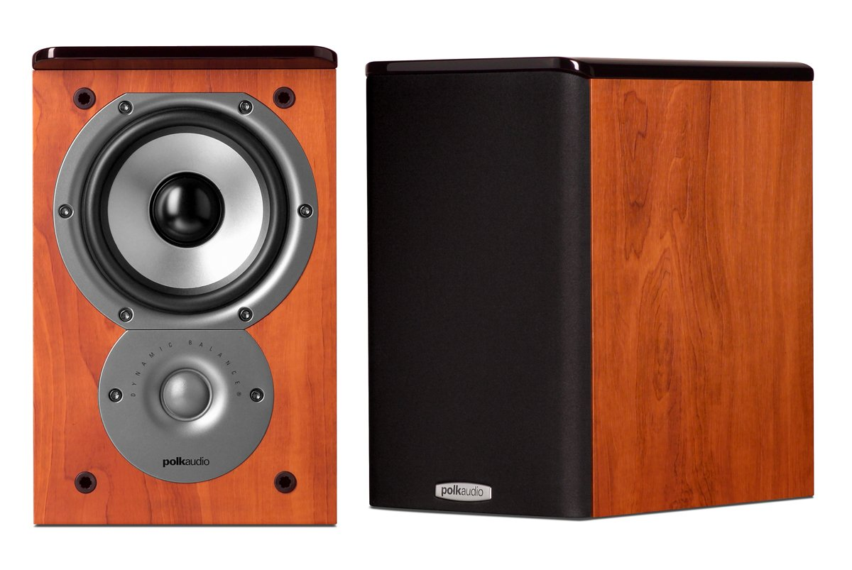 Parlante : Polk Audio TSi100 Bookshelf Speakers Cherry
