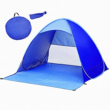 Pop Up Tent Automatic Beach Tent Outdoor Sun Shelter Portable Cabana UV Protection Baby Tent  sc 1 st  Amazon UK & Pop Up Tent Automatic Beach Tent Outdoor Sun Shelter Portable ...