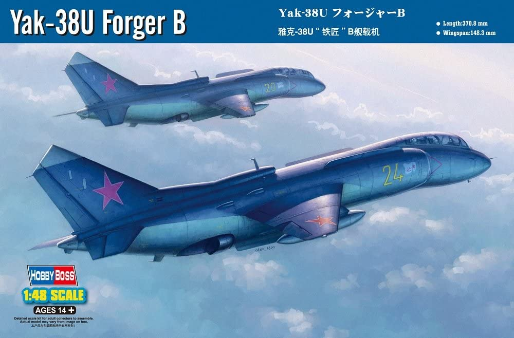 Hobby Boss 80363 Modellbausatz Yak-38U Forger B