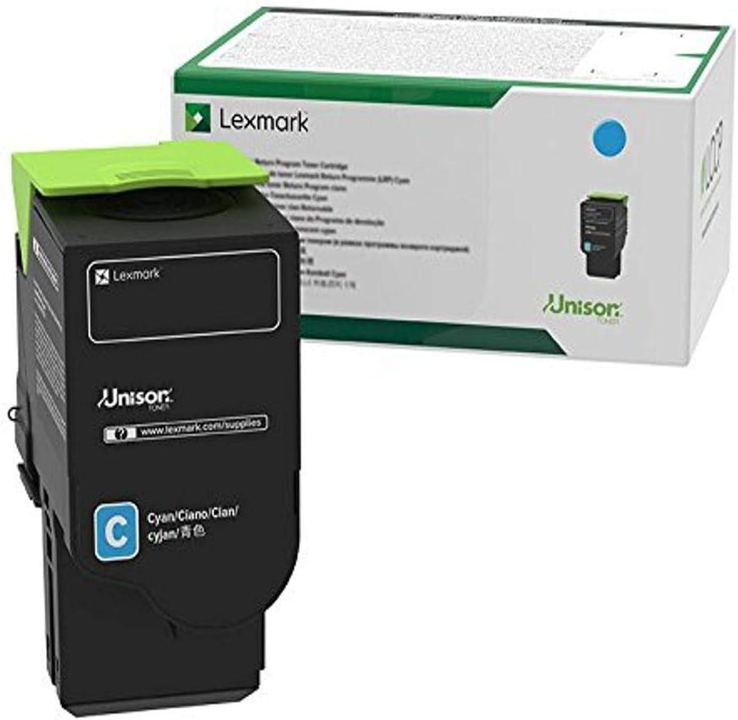 Lexmark C2310C0 Cyan Return Program Cartridge Toner