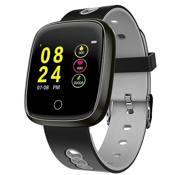 Amazon.com: USB Charging Smart Watch Men Sleep Monitor Watch ...