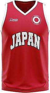 Airosportswear Japan Home Concept Basketball Football Soccer T-Shirt Jersey