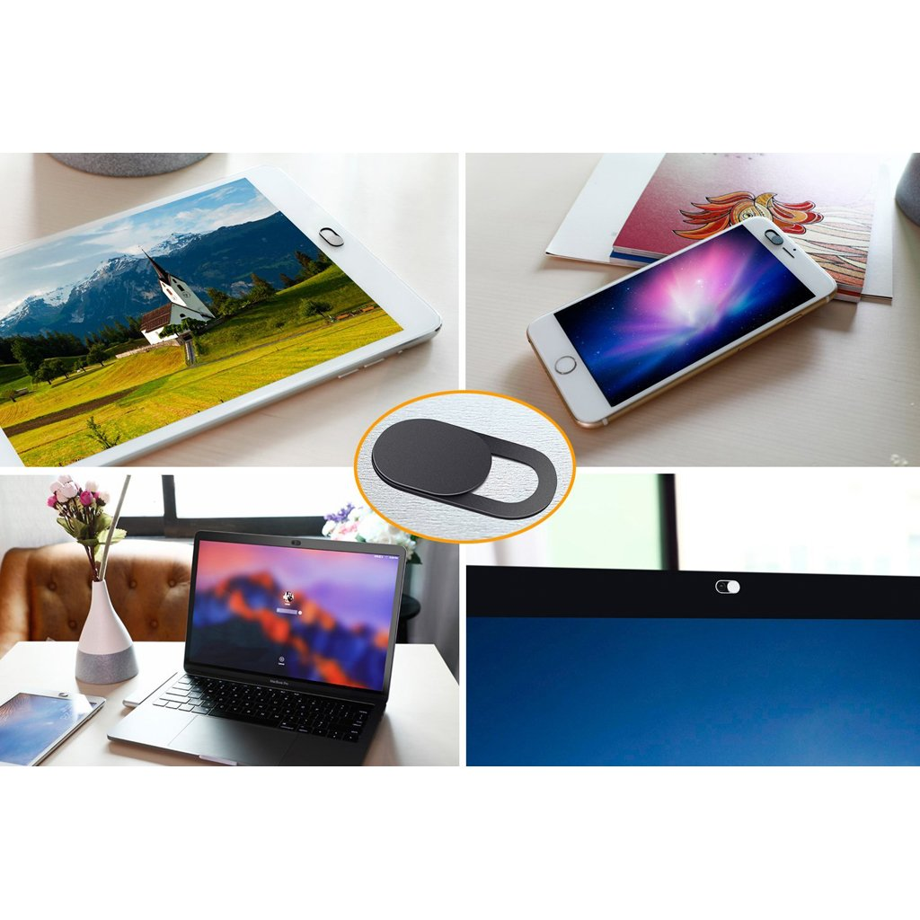MagiDeal 3 Piezas de Cubiertas de Webcam C/àmara Compatible con Ordenador Port/àtil PC