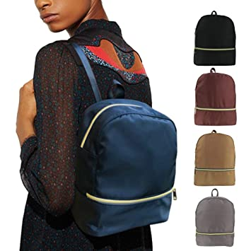 Korean style fashion mini backpack purse for women and college girl, stylish, lightweight,
