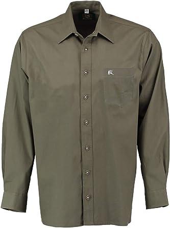 Orbis Textilien Camisa de caza de manga larga: Amazon.es ...