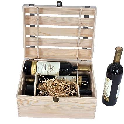 Armarios para vino Botelleros Seis paquetes de cajas de vino ...
