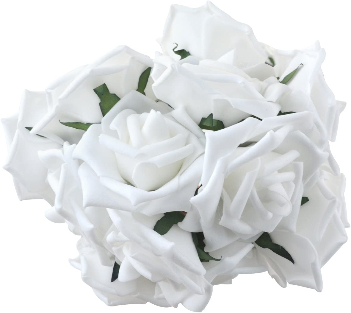 Bride Artificial Foam Flowers Wedding Decoration Bridal Bouquet Fake Roses