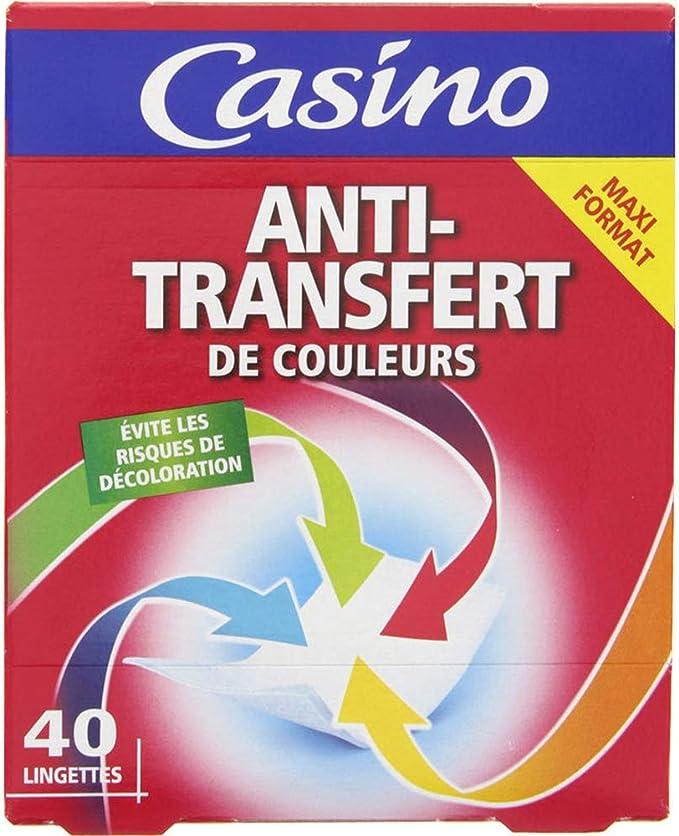 CASINO Lingettes Anti Transfert de Couleurs