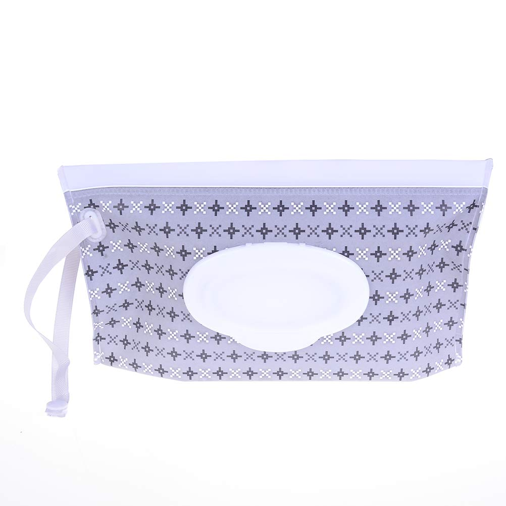 Baby Wet Wipe Pouch Bag Travel Wipes Case Reusable Refillable Wet Wipe Bag Cases Portable Travel Wipes Dispenser Wipe Pouches Velishy Dream