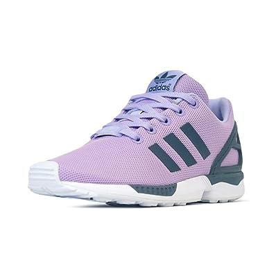 économiser e25a2 3f22a Amazon.com | adidas Little Kids ZX Flux K (Purple/glopur ...