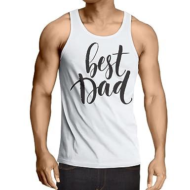 lepni.me Camisetas de Tirantes para Hombre El Mejor papá ...