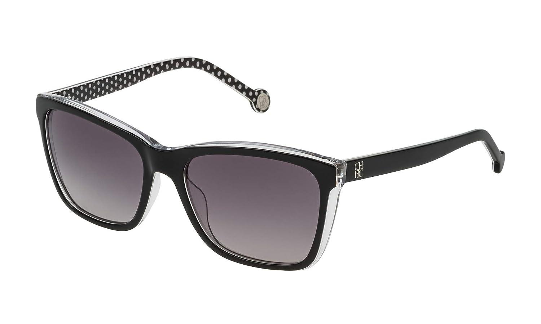 Carolina Herrera SHE69555Z32Y Gafas de Sol, Negro, 55 para ...
