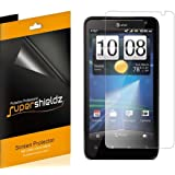 [6-Pack] Supershieldz- High Definition Clear Screen Protector Shield For HTC Vivid + Lifetime Replacements Warranty [6 Pack] - Retail Packaging