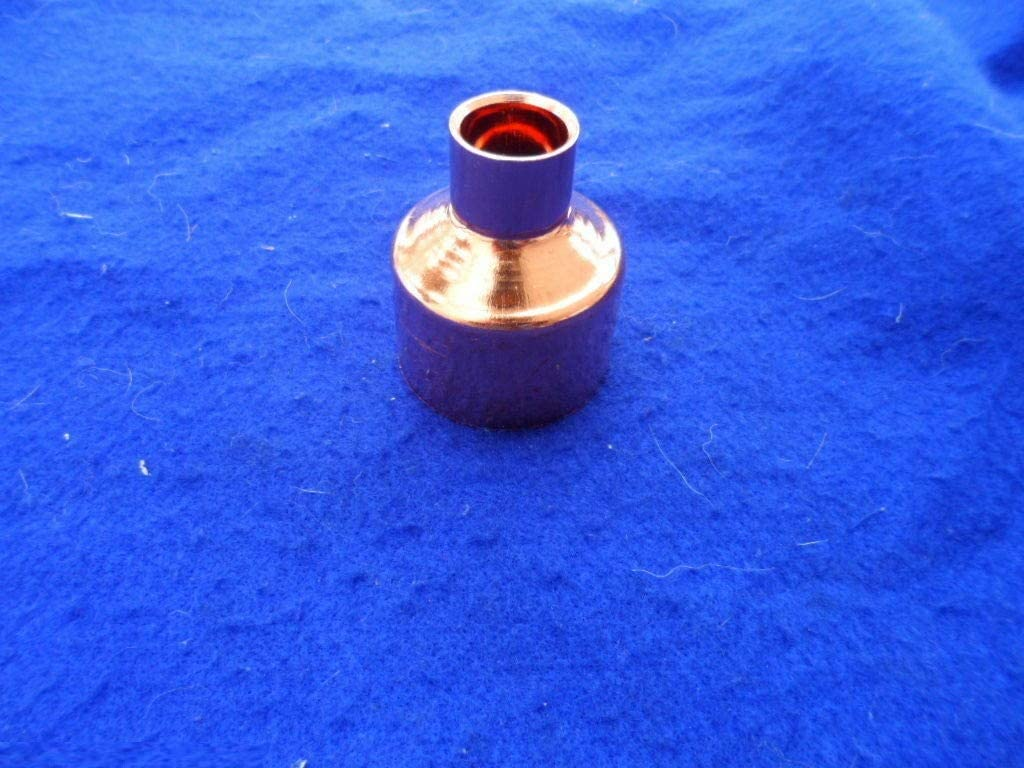 FITS 2-1//8 OD x 1-3//8 OD Pipes Quality Metal Fast Supply store 2 x 1-1//4 Copper Reducer Coupling