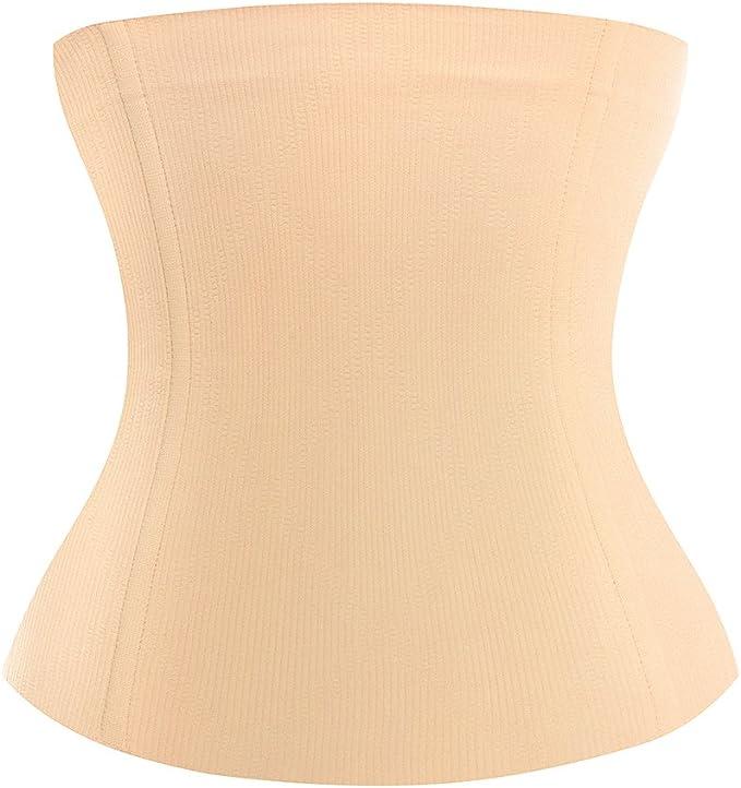 KSKshape Waist Trainer Shapewear for Weight Loss Tummy Control Body Shaper Breathable Waist Cincher