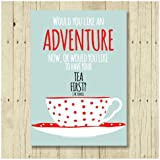 Tea Lover Gifts JM Barrie Quotes Magnet 2.5 x 3.5