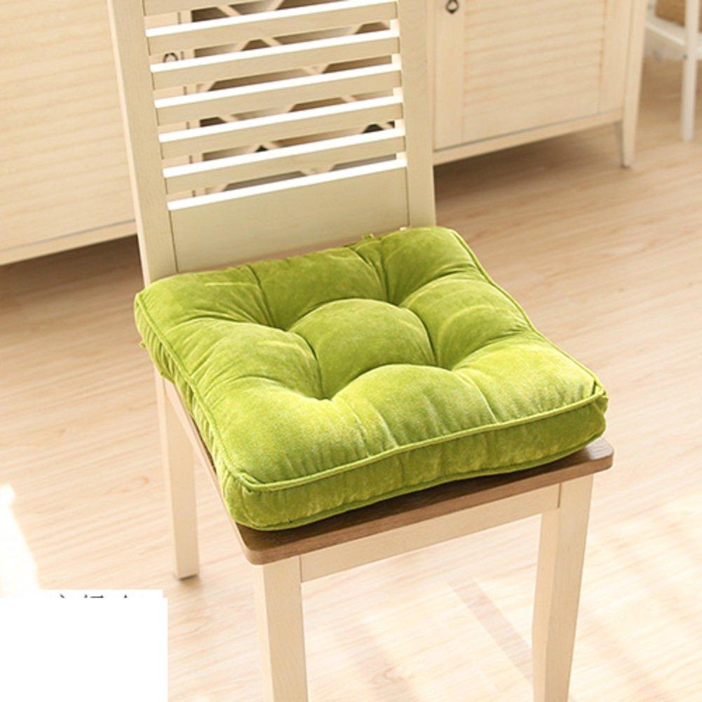 LJ & XJフロアクッション、ソフトシートクッション快適な椅子パッドwith Tiesシートクッションオフィスのベイウィンドウ学生スツールソファベンチクッション 42x42cm(17x17inch) LVJJJJJJ 42x42cm(17x17inch) E B07B6GSYQN