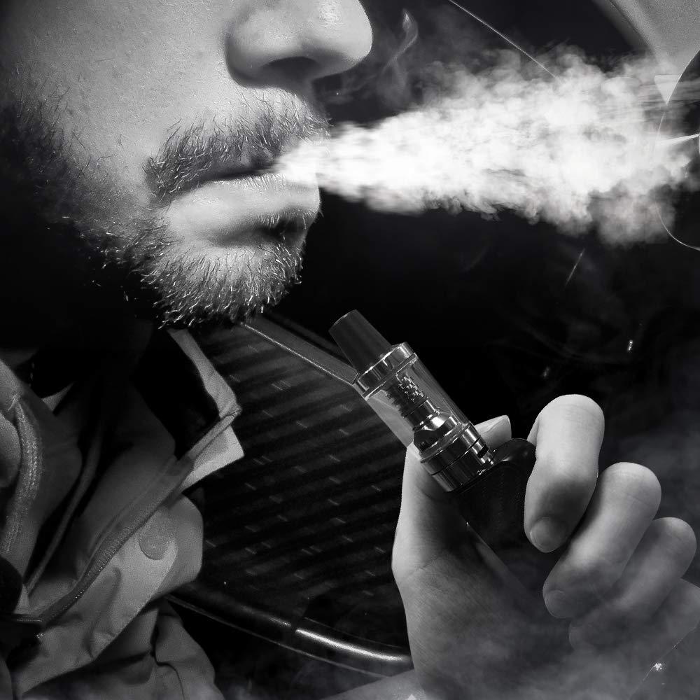 Cigarrillo electrónico B1 80W E Cigarrillo Vape Mod con batería recargable 1500 mAh Repuestos de la parte inferior Vape Pen No E Líquido sin nicotina ...
