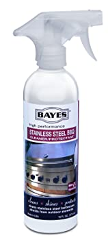Bayes High-Performance Stainless Steel BBQ Grill Cleaner