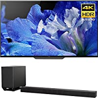 Sony Bravia XBR55A8F 55 OLED 4K HDR10 HLG and Dolby Vision TV 3840x2160 & Sony HTST5000 7.1.2Ch 4K HDR Compatible 800W Dolby Atmos Soundbar