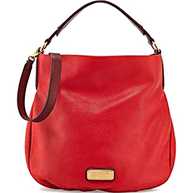 Marc By Marc Jacobs Classic Q Hillier Hobo Femmes Rouge  Amazon.fr ... 75ffe7b6ea24