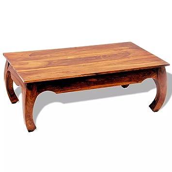 Tavolino Da Soggiorno Etnico.Vidaxl Tavolino Da Salotto Legno Sheesham 40 Cm Tavolino Etnico Laterale