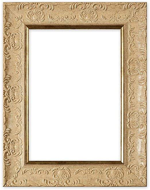 Ornate Shabby Chic Picture Photo Poster Frames Fitted with Glass Gold Silver