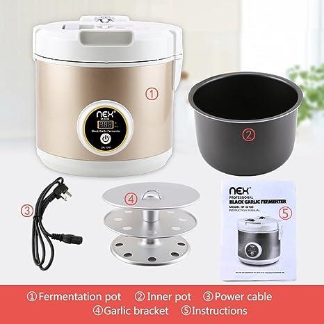 Nex Black Garlic Fermenter - Fermentador automático de ajos, Color ...